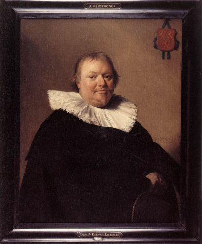 Portrait of Anthonie Charles de Liedekercke by Jan Cornelisz Verspronck
