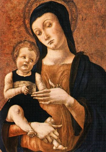 Mary and Child by Alvise Vivarini