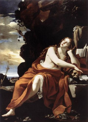 St Mary Magdalene by Simon Vouet