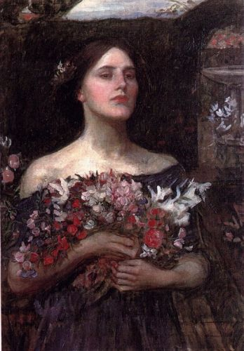 Gather Ye Rosebuds by John William Waterhouse