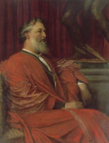 Frederic Lord Leighton by George Frederick Watts