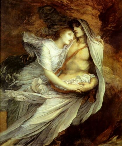 Paolo and Francesca by George Frederick Watts