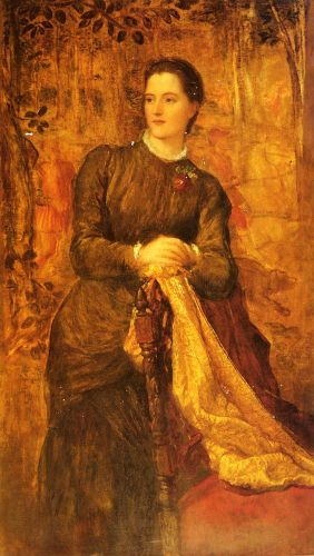 The Honourable Mary Baring by George Frederick Watts