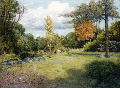 Autumn Days by Julian Alden Weir