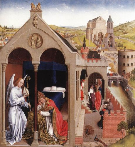 Dream of Pope Sergius by Rogier van der Weyden