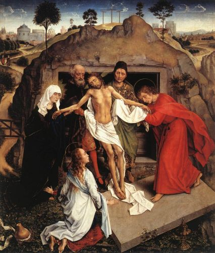 Entombment of Christ by Rogier van der Weyden