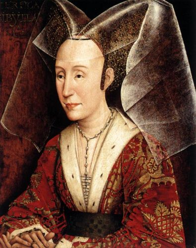 Isabella of Portugal by Rogier van der Weyden
