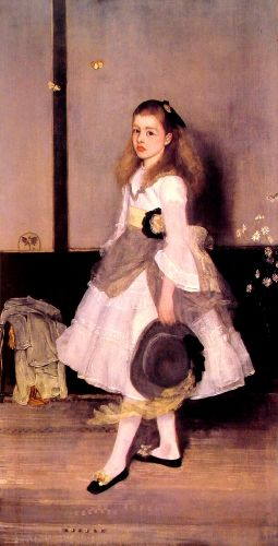 Miss Cicely Alexander by James Abbott McNeill Whistler