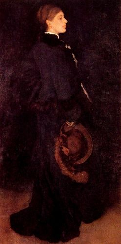 Portrait of Miss Rosa Corder by James Abbott McNeill Whistler