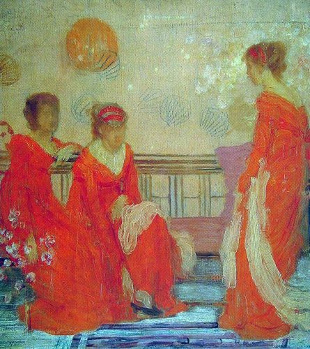 Red and Black by James Abbott McNeill Whistler