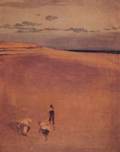 The Beach at Selsey Bill by James Abbott McNeill Whistler