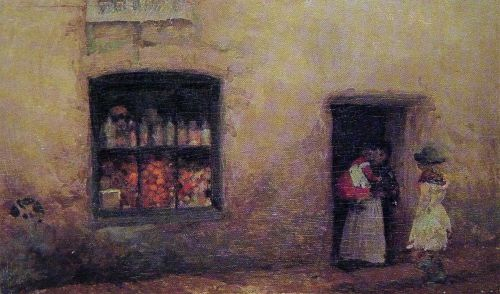 The Sweet-Shop by James Abbott McNeill Whistler