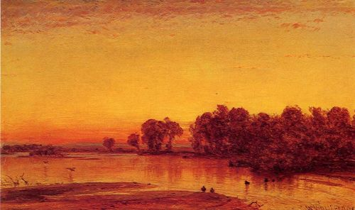 The Platte River by Thomas Worthington Whittredge