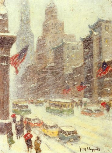 Mid-Town Storm by Guy Carleton Wiggins