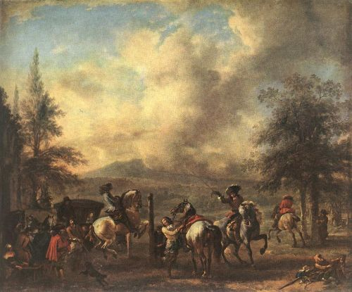 Riding School by Philips Wouwerman