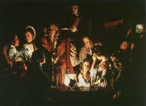 Experiment with the Air-Pump by Joseph Wright
