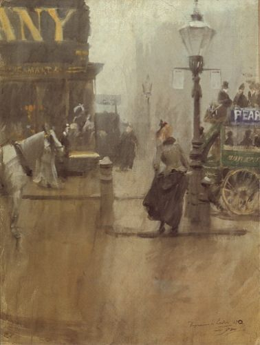 Impressions of London by Anders Zorn