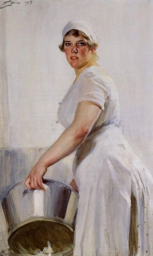 Kitchen Maid by Anders Zorn
