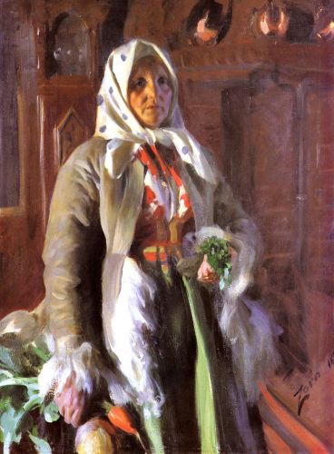 Mona by Anders Zorn