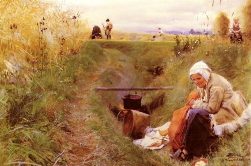 Our daily bread by Anders Zorn