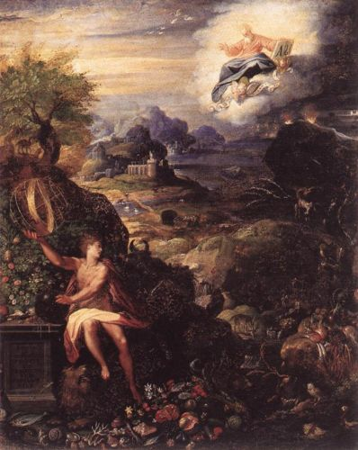Allegory of the Creation by Jacopo Zucchi