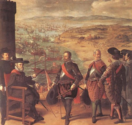 Defence of Cadiz against the English by Francisco de Zurbarán