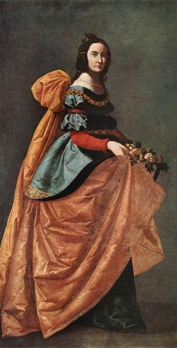 St Casilda of Burgos by Francisco de Zurbarán